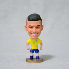 "Soccer 2016 Brazil team Jersey 11# COUTINHO (BRA-2016) 2.5"" Toy Doll Figure(China)"