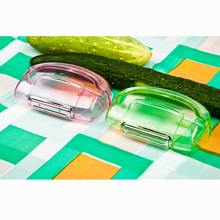 Peeler Storage Vegetable And Fruit Tools Candy colors Plastic Cutting Supply Kitchen Bar Cooking Tool Comfortable Grip Practical