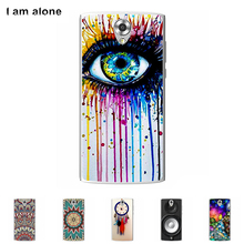 Soft TPU Silicone Case Homtom HT7 HT 7 5.5 inch Mobile phone Cover Cellphone Protective Skin Mask Color Paint - I am alone Long Xin Store store
