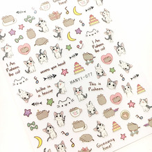 2017 Newest 3d nail art sticker SOLONAIL hanyi-76-78 nail tools cats cats decoration nail accessories supplier(China)