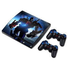 STICKER COVER for PS3 SLIM + 2 CONTROLLER SKINS for PS3 skin stickers Robert Style