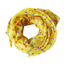New Spring Summer Beach Children Dot Scarf Chiffon Baby Neck Scarf Girl Neck Scarves Children Shawl boy Neck collar W1