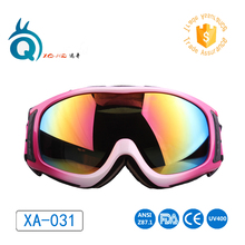 Colorful ski goggles double lens anti-fog ski glasses lady snow goggle skiing eyewear outdoor snow board sport men women goggle(China)