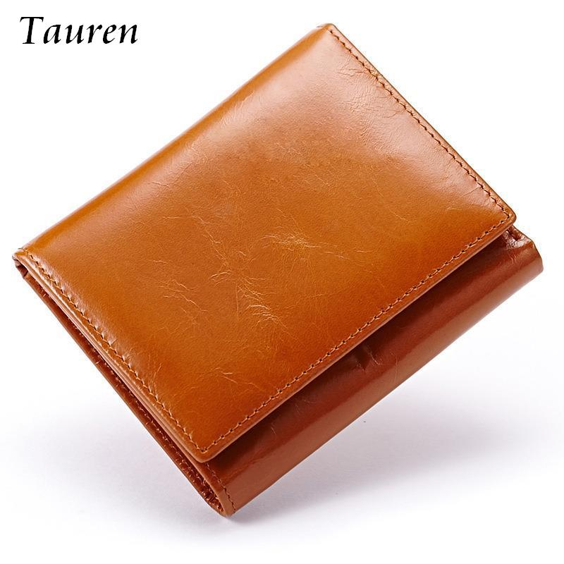 100% Women Genuine Leather Wallet Oil Wax Cowhide Purse Woman Vintage Lady Clutch Coin Purses Card Holder Carteira Feminina <br><br>Aliexpress