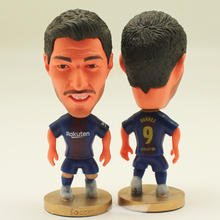 "Soccer Star 9# SUAREZ (B-2018) 2.5"" Action Dolls Figurine(China)"