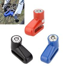 Safety  Cycling Mountain Road Bike Bicycle Lock Steel Security Anti-Theft Motorcycle Lock Rotor Disc Brake Wheel Lock with Key