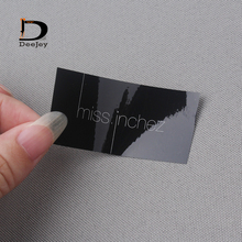 custom sticker logo text printed sticker label tags adhesive small labels color or clear 1000pcs/lot(China)