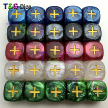 Brand New Fate Dice for Fate & Fudge Game Board Game 10pcs/lot(China)