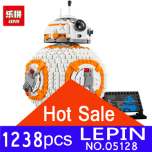 Lepin 05128 The Double B 8 Robot Set 1238Pcs Star Classic Series Model 75187 Building Blocks Bricks Toys for children Gifts(China)