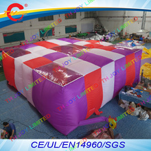 12days free air shipping 9*9*2mH Giant battle field inflatable laser tag arena Giant Inflatable Games Laser Maze(China)