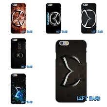 Mazda Car Logo Soft Silicone TPU Transparent Cover Case For iPhone 4 4S 5 5S 5C SE 6 6S 7 Plus(China)