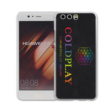 Coldplay A Head Full of Dreams design transparent clear hard case cover for Huawei P10 P9 Plus P8 P9 lite Mate S 9 8