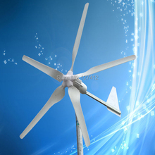 1000W Wind Turbine with 5 Blades, 1000W 24V Wind Generator with Tail Turned Brake Protection, CE Approved + 3 Years Warranty(China)