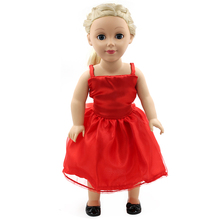 Stock Hot Selling Silk Princess Doll Accessories Baby Born Doll Suit Fit 18 inch Baby Born Doll Handmade Doll Dress OS201(China)