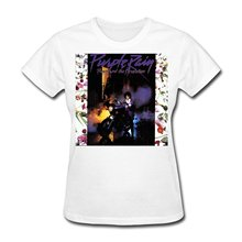 Purple Rain Prince And The Revolution O-Neck Design Short Sleeve T Shirt For Women