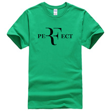 short sleeve roger federer fitness t shirt men RF Perfect printed plus size tops 2017 summer Cotton brand camisetas 11 colors