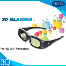 SG005 1pcs Hony 3D Active Shutter TV Glasses Blue tooth IR 3D Rechargeable, Micro-USB Glasses work for EPSON For Sony projector(China)
