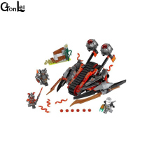 (GonLeI) 33Ninja New 10580 Vermillion Invader DIY Model Building Blocks figures Kids Toys Bricks Compatible - Stars World Store store