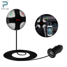 FM Transmitter Bluetooth V3.0 Car Kit MP3 Player Wireless Modulator with LED Display USB Charger Support SD Tf Card for iPhone