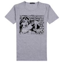 wonderwoman thor hulk captain america comics images printing good quality tee shirt