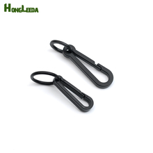 DIY 100pcs black KAM plastic snap clip hooks Mini carabiner backpack paracord strap hooks rings M-081/M776 free shipping