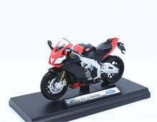 1:18 Welly APRILIA RSV4 FACTORY Motorcycle Bike Model New in Box