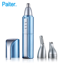 3 in 1 Electric Nose Trimmer Men's Shaver and Hair Clipper Hair cutting machine Smooth Running Hair Remover USB Charge(China)