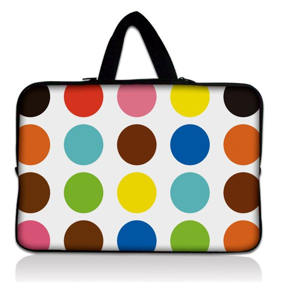 14 14.1 14.4 Polka Dot Neoprene Soft Laptop Netbook Sleeve Bag Case Cover Pouch+Hide Handle For 14 Sony VAIO/CW/CS PC<br><br>Aliexpress