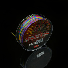 100m braided fishing line multifilament 4 strand wire with Nano coating PE material strong knot strength abrasive-resistant line(China)