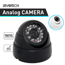 CCTV 24LED IR 700TVL Indoor Camera Sony Effio-E CCD / CMOS Night Vision Security Dome Camera Analog Cam(China)