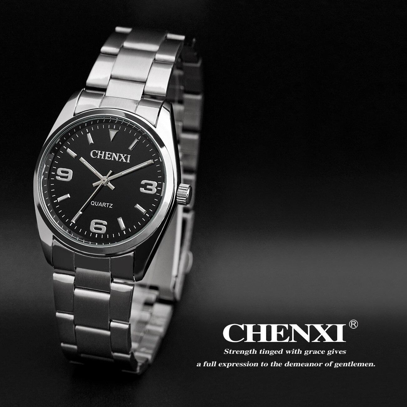 CHENXI Brand Hardlex Shockproof Japan Core Waterproof Dress Quartz Wristwatches Wrist Watch for Men Women 003A<br><br>Aliexpress