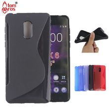 "Soft TPU Silicone Rubber Transparent Clear Cover Case For Nokia 5 5.2"" Cases Phone Shockproof  Skin Fundas Coque"