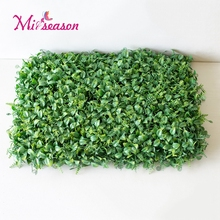Miiseason 40x60cm Natural Grass Mat Green Artificial Lawns Plant Turf Carpets Fake Sod Home Garden For Wall Floor Decoration(China)