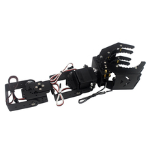 DIY 4DOF Robot Arm Claw Holder With / Without 4pcs Digital Servo LD-1501MG LDX-335 For R C Toy Models Parts Accessories(China)