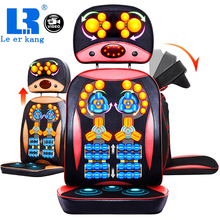 LEK 918G 220V Hot Product Update Anti-stress electric Roller Vibration Shiatsu neck back body massage cushion chair device