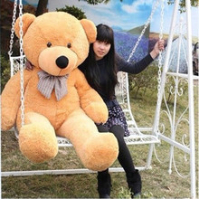 "120cm 47"" White/Light Brown/Dark brown/Pink Color 1.2M Giant Size Plush Teddy Bear Plush Toy Doll Bear Gift"