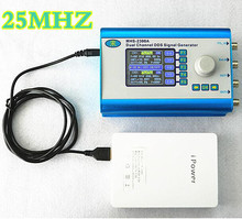 MHS2300A 25MHz DDS signal generator CNC Dual-channel signal source Arbitrary waveform generator function