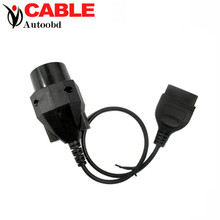 2016 High Quality OBD1 20pin to OBD2 16pin cable for BMW diagnostic interface 20 pin extension cord Free Shipping