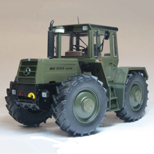 1/32 Diecast Metal MB Green Tractor Models Engineering Agricultural Car Series Children Toys 2035 MB-tractor 1500 turbo Olivgrun