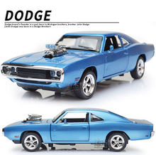 Dodge Charger 1:32 alloy Wholesale car modesl four door open mustang GT children's toy car 2016 hot sale car metal models