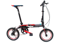 EMS Shipping 14'' Folding Bike Bicycle Portable City Sports Bike Mechanical Brakes Mini Foldable Bicycle Christmas Gift