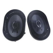 2pcs/lot 5 X 7inch Waterproof Coaxial Speaker Car Universal Audio Refitting Speakers Car Styling Stereo Auto Loudspeaker(China)