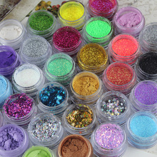 Eye Shadow Flash Powder  Bright Pearl Shining Bright Glitter Powder Pigment Glitter Mineral Spangle Eyeshadow Makeup Cosmetic