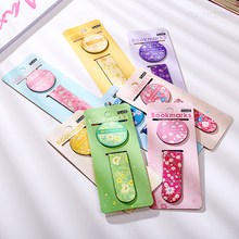 2 Pcs/lot Cute Kawaii Korean Flower Printed Magnetic Bookmark Book Mark Paper Clip Office Accessory School Supplies Stationery