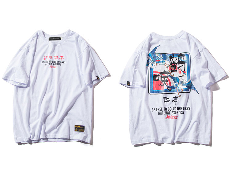 Japanese Crane Tshirts 3