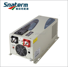 DC12V 3000W/3KW Surge Power 9KW pure sine wave solar off grid inverter with LCD display AC battery charger UPS function