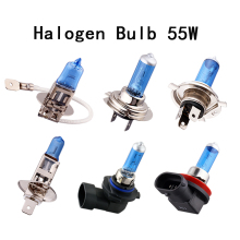 h1 h3 h4 h7 h8 H9 h11 9005 9006 Car Auto 12v Pure White 55w halogen lamp light bulb 6000k fog light spotlight car styling(China)