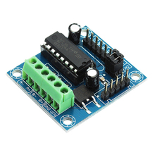 Buy Mini 4-Channel Motor Drive Shield Expansion Board L293D Module High Voltage Current Module Arduino UNO MEGA 2560 for $1.42 in AliExpress store
