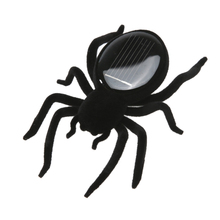 Solar Spider Tarantula Educational Robot Scary Insect Gadget Trick Toy Solar Toy Juegos Solares Kids Toy Robot Toy(China)