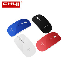 Ultra thin Mouse Bluetooth Mice New Arrival Optical Gaming Mouse Wireless Bluetooth 3.0 Mause for Computer PC Laptop(China)